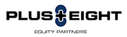 Logo for Plus Eight Equity Partners